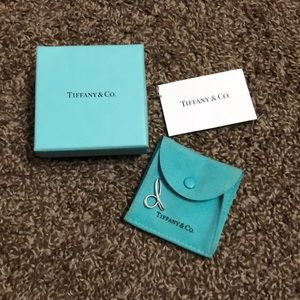 "Authentic Tiffany ""D"" Charm"